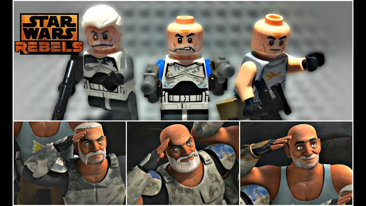 lego star wars rebels captain rex amp commander wolffe