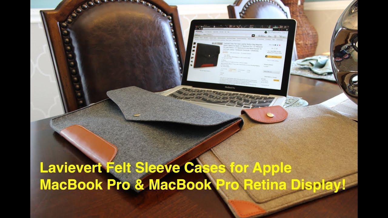 Macbook pro with retina display cases macbook pro retina cases - Lavievert Felt Sleeve Cases For Apple Macbook Pro Macbook Pro Retina Display