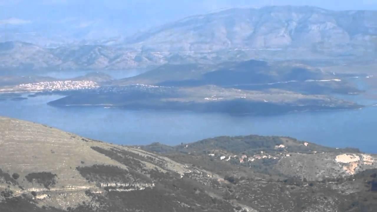 Mount Pantokrator, Corfu, Panorama - YouTube