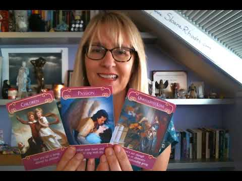 Aries Love & Romance October November December 2017 Tarot Reading (Angel & Fairy) by Sloane Rhodes