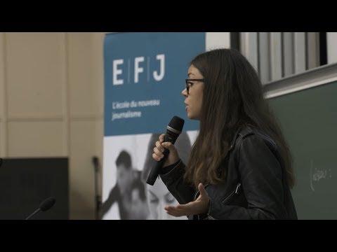 """LES SESSIONS """"PITCH"""" DE L'EFJ : #3MINPOURCONVAINCRE"""
