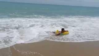 Болгария 2015 Золотые Пески - Черное Море(2015 год Болгария Золотые Пески - Черное море нас встретило штормом, на пляже купалось мало народа, но смотрел..., 2015-06-06T12:48:27.000Z)