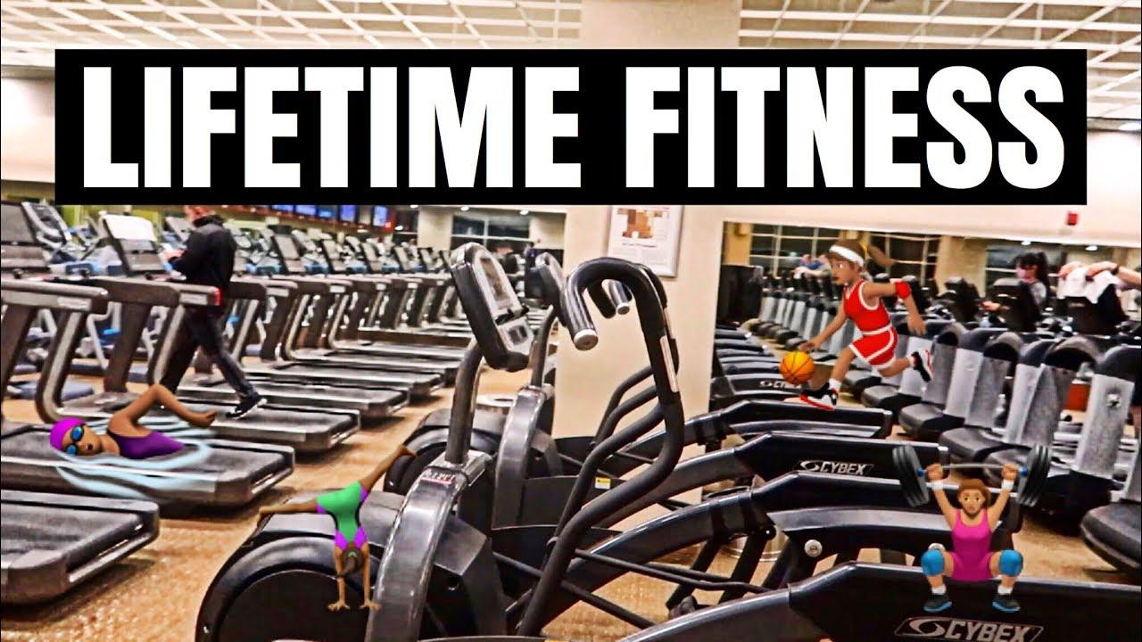 Lifetime Fitness Gym Tour Youtube