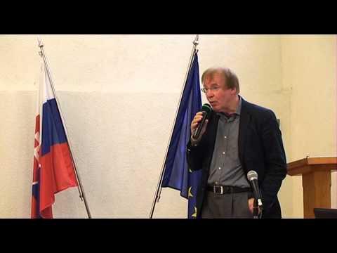 Jürgen Rudolph - mezinárodní konference, Bratislava 29. 4. 2013