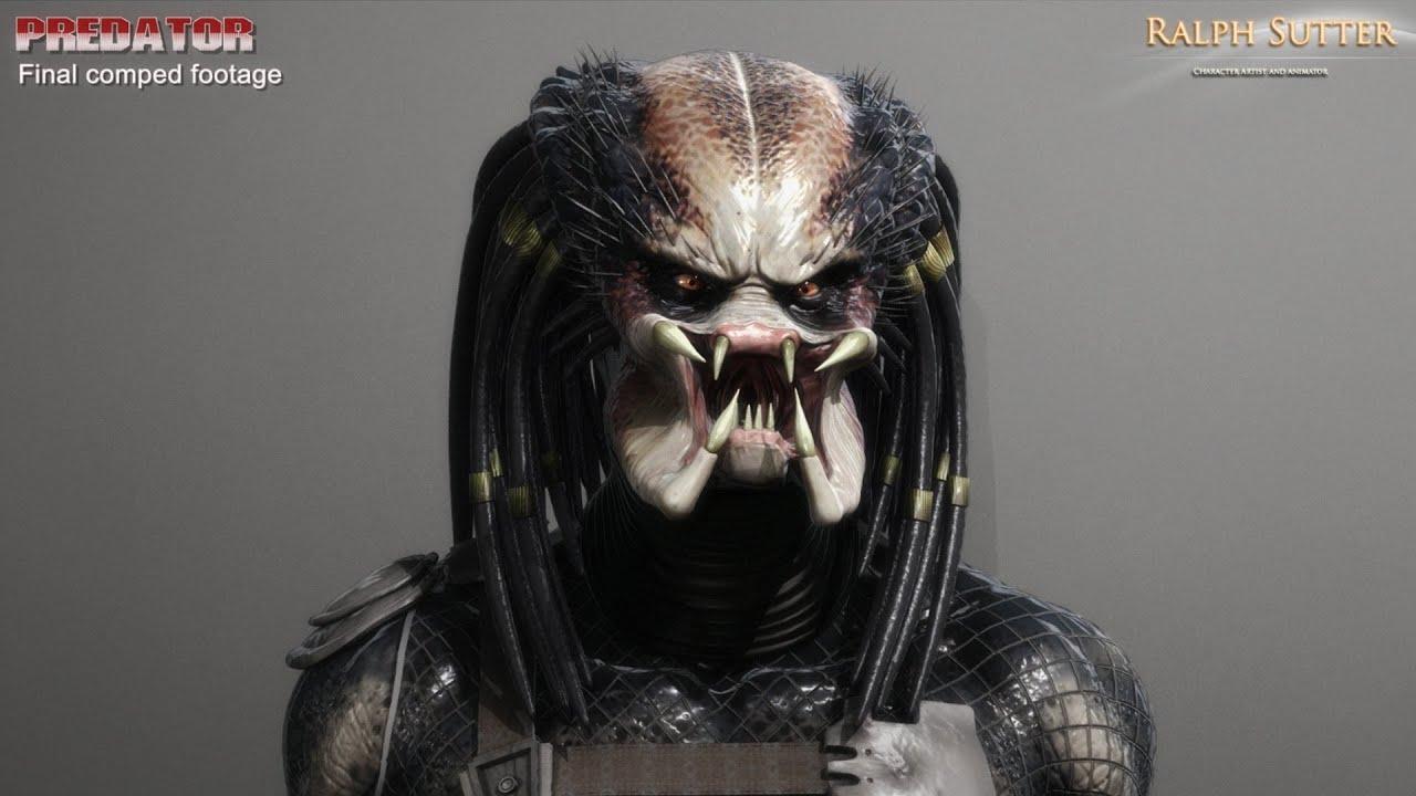 Mortal Kombat Wallpaper 3d Predator 3d Model Facial Animation Rendering Test