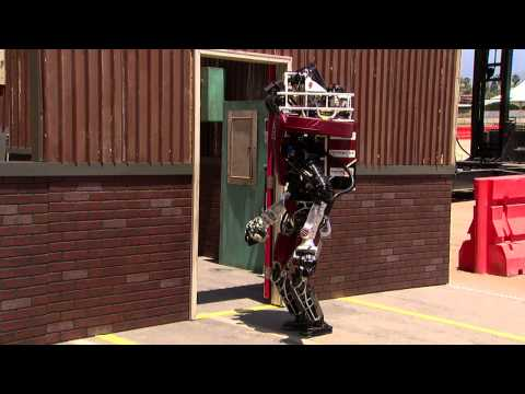 High-tech robots falling down is the funniest thing you'll see this weekend
