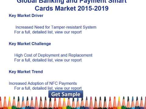 Global Banking and Payment Smart Cards Market 2015 2019