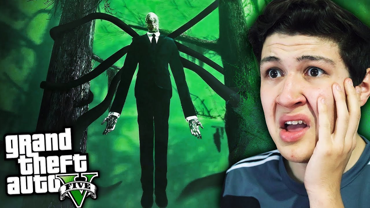 ENCONTRÉ a SLENDERMAN en GTA 5! Grand Theft Auto V - GTA V Mods thumbnail