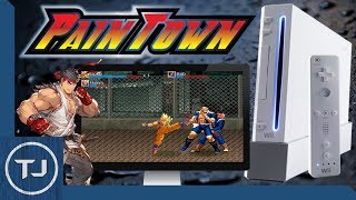 Install And Setup PainTown On The Nintendo Wii