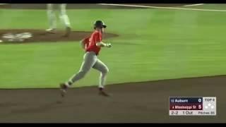 Auburn Baseball vs Mississippi State Game 1 Highlights