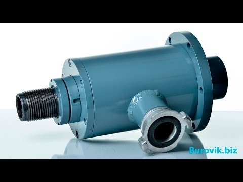 Swivel for water well drilling rigs
