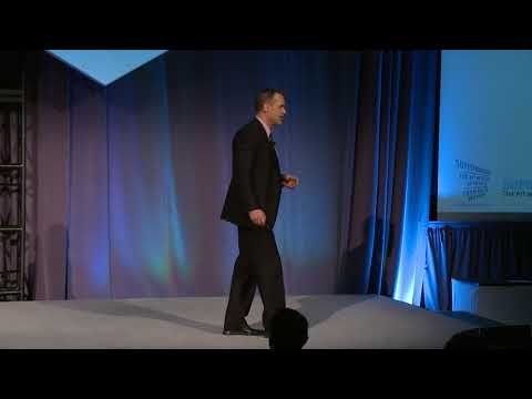 Dan Gardner speaking at the 2016 Prime Quadrant Conference
