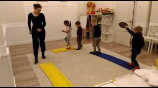Уроки игровой гимнастики в доме радости
