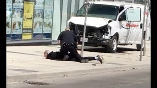 Toronto Police Arrest Man After Van Hits Pedestrians