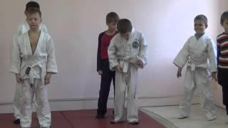31.10.15. Открытое занятие по дзюдо: разминка. Сentre Judo Kids. Feodosiya