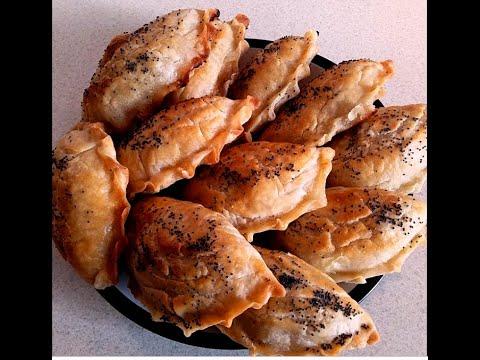 Слоеные пирожки с мясом  Язык проглотишь!