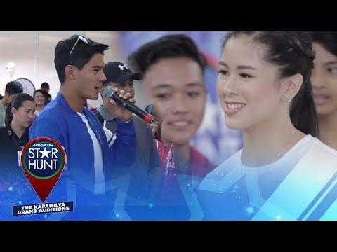ABS-CBN Star Hunt Bataan Highlights Kisses Delavin and Daniel Matsunaga #StarHuntBataan