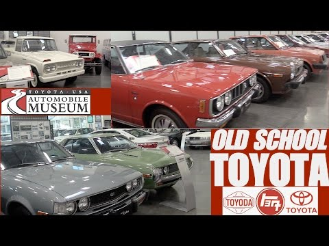 Classic Toyota Cars at Toyota USA Automobile Museum