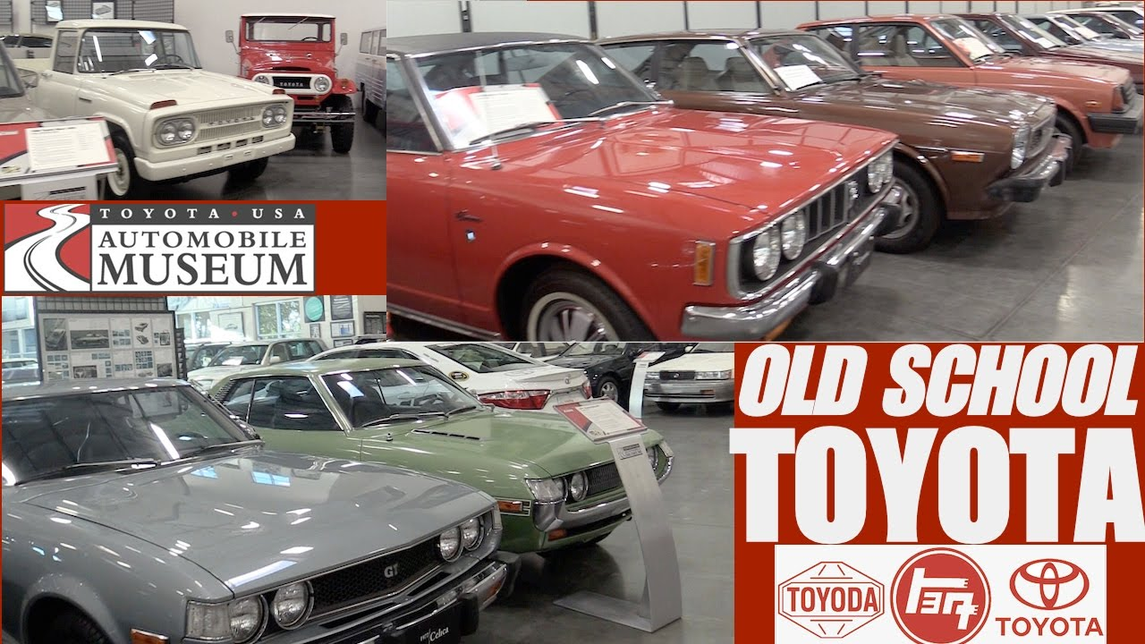 Classic Toyota Cars At Toyota USA Automobile Museum YouTube - Classic car museums in usa