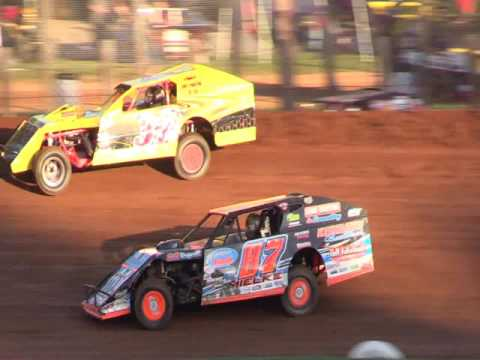 8 12 16 Modified Heat #1 Bloomington Speedway