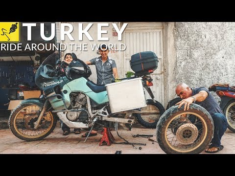 TRAVEL the WORLD on MOTORCYCLE, Asia Minor  - Turkey to Iraq!