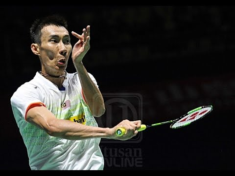 Lee Chong Wei vs Wei Nan MS Denmark Open 2015 [Nice Angle]