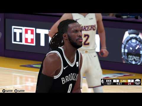 NBA 2K18 PC | Los Angeles Lakers & Brooklyn Nets | 4K w/Mods | Asus 1080 Ti