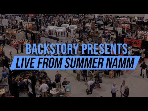 Backstory presents: Live from NAMM with Michael Kelly Guitars