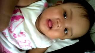 My baby bala-bala 6th month