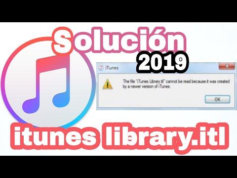 Solucionar Error De ITunes Library.itl 2019