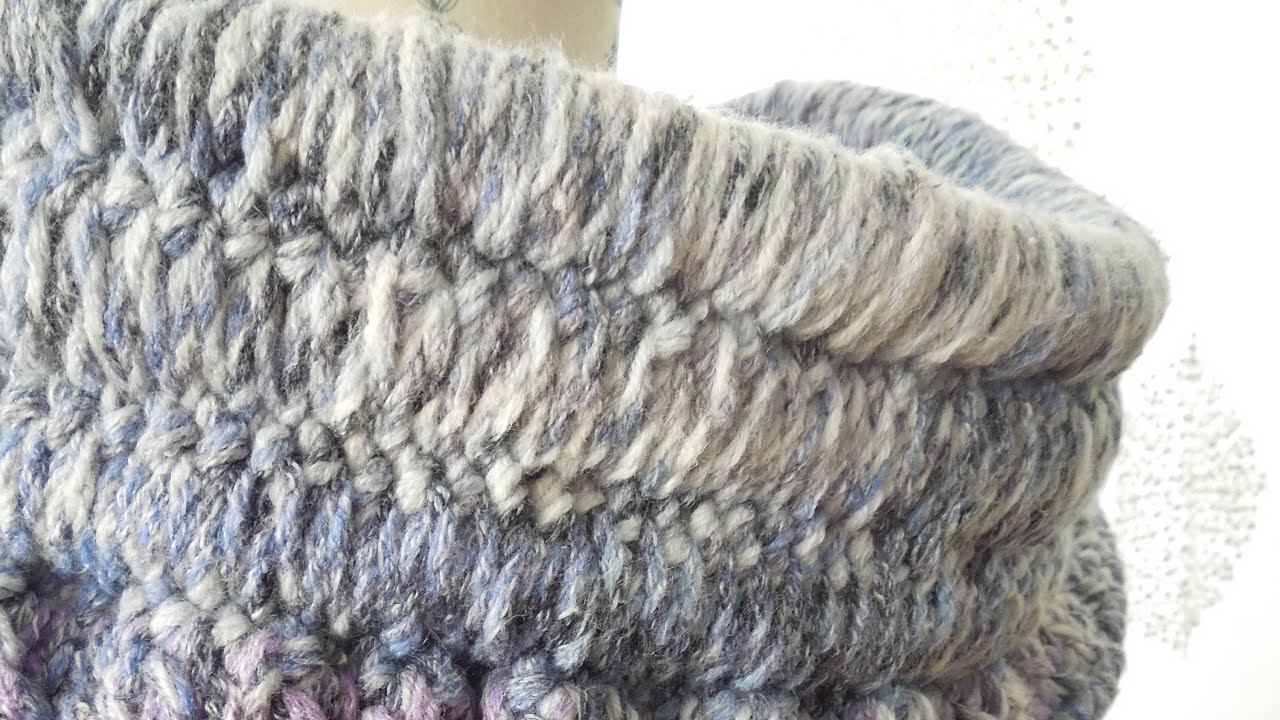 crochet) How To - Crochet around rope for our Solomon Cowl inspired ...