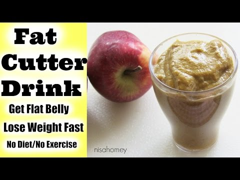 How To Lose Belly Fat In 1 Week - Lose 2-3 kgs - No Diet - No Exercise - Magical Fat Cutter Drink