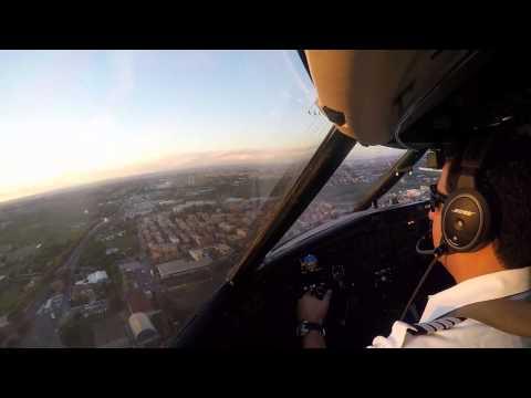 Landing @ Rome. / Challenger 601