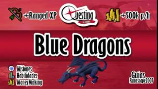 OSRS Guía en español - Blue Dragons  + de 500k/h apox.