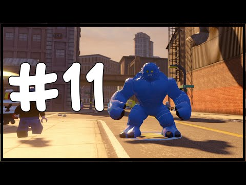 MAVİ HULK/A-BOMB - LEGO Marvel's Avengers Free Roam - Part 11(Türkçe Gameplay) HD