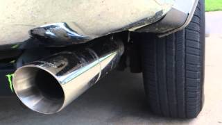 Expedition dual exhaust