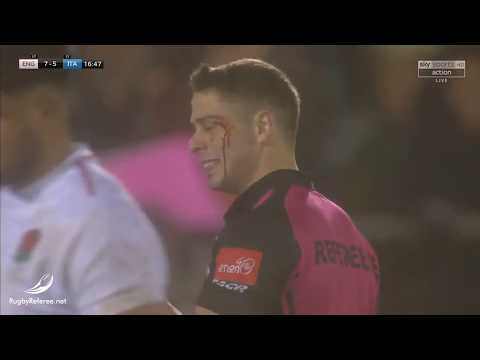World Rugby Debuts Referee Blood Bin!