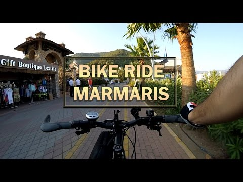 Marmaris Bike Rides on The Beach Xiaomi Yi Action Camera Long Version