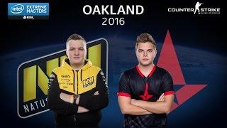 CS:GO - NaVi vs. Astralis [Train] - Group A - IEM Oakland 2016