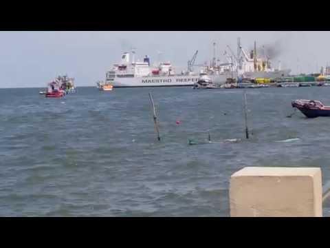 Malecon de Puerto Bolivar - Ecuador (HD)
