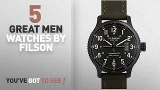 Top 10 Filson Men Watches [ Winter 2018 ]: FILSON by SHINOLA MACKINAW FIELD F01200001946 MENS QUARTZ
