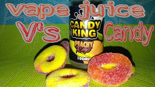 Candy king peach rings V's food (candy)...