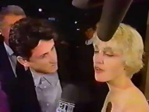 Madonna & Sean Penn - At Close Range Premiere