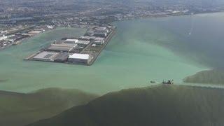 東京湾で青潮 千葉沖、沿岸で異臭も