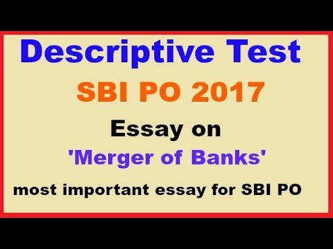 How to write Descriptive essay for SBI PO Main      Part   SBI PO     pratiyogitakiranonline com