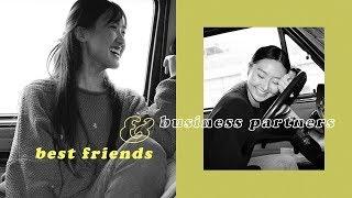 Best Friends & Business Partners | February Vlog