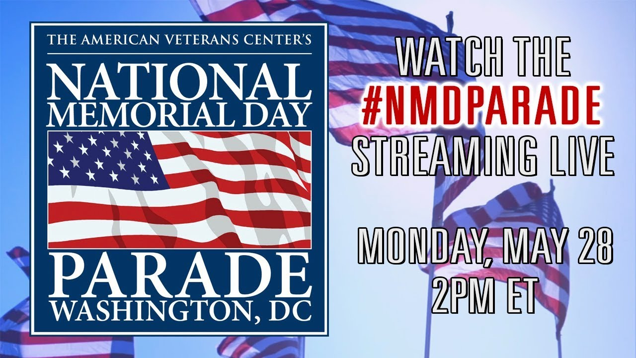 Staying in? How to watch Memorial Day events being livestreamed ...