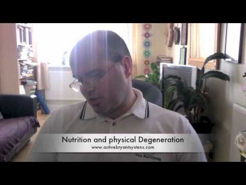 Nutrition And Physical Degeneration Personal Trainer London