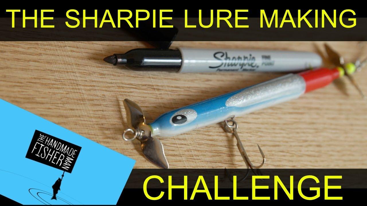The sharpie lure making challenge