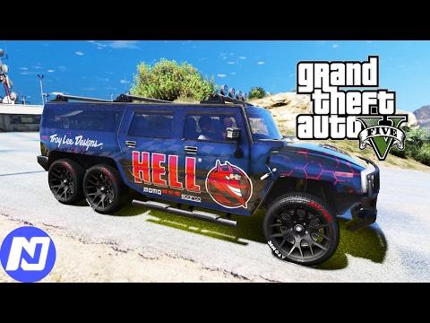 GTA 5 Khi si u xe Hummer H6 l m Uber ch kh ch i Offroad ND Gaming